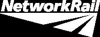 Network Rail logo White